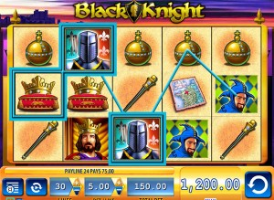 black knight slot review