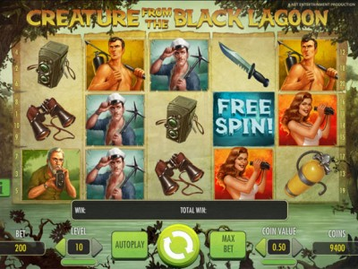 creature from the black lagoon slot review