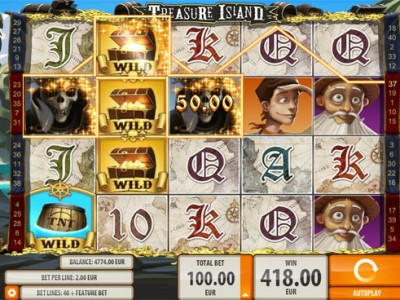 treasure island slot review