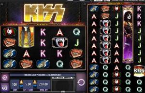 kiss shout it out loud wms slot review