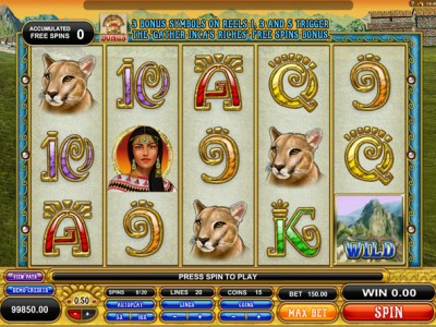 machu picchu slot review