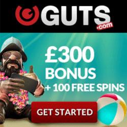 guts welcome bonus