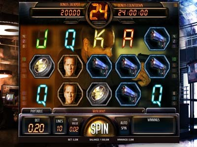 24 slot machine review