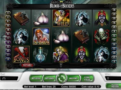 blood suckers online slots review