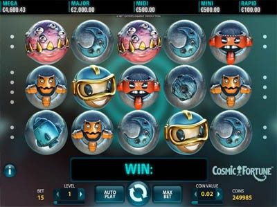 cosmic fortune netent slots review