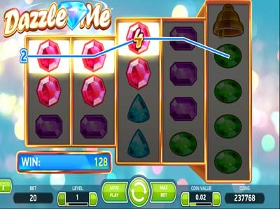 dazzle me slot review