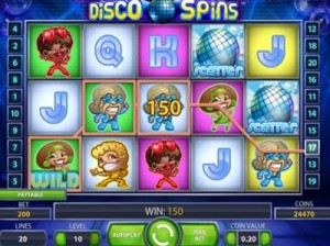 disco spins review slots