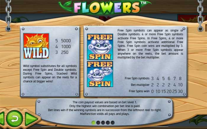 flowers bonus
