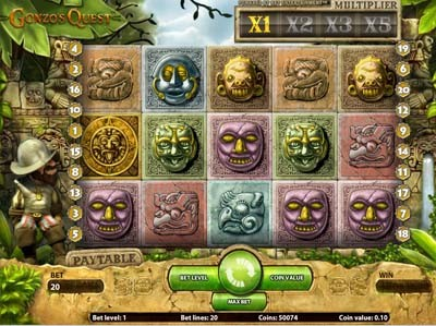 netents gonzos quest slot reviewed