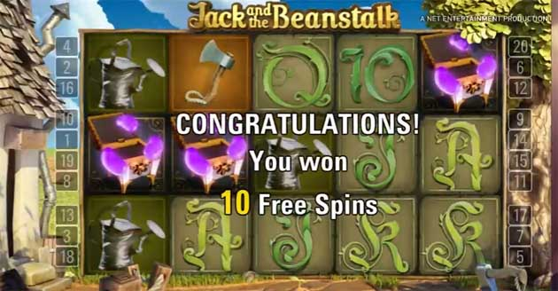 jack and the beanstalk slot free spins feature explained