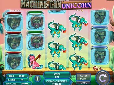 machine gun unicorn slot review