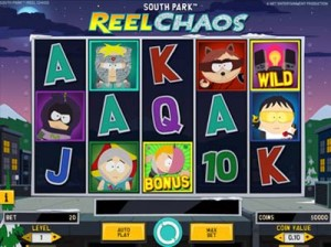 south park reel chaos slot machine