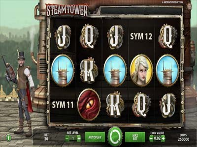 steam tower online slot
