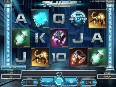 thief netent slot