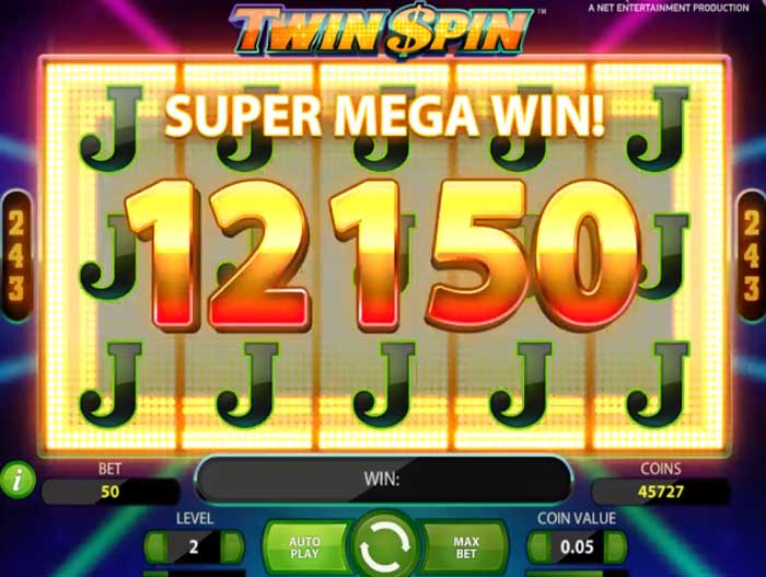 twin spin big win