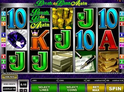 break da bank again slot review