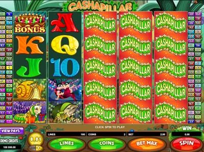 cashapillar slot review microgaming