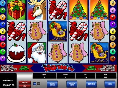 ho ho ho slot by microgaming review