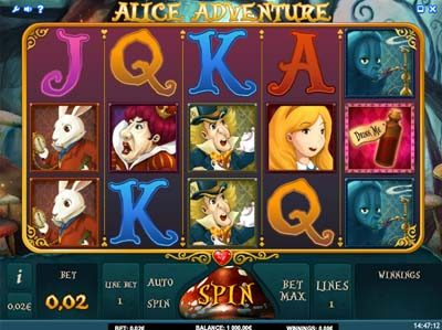 alice adventure slot review
