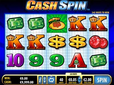 cash spin bally slot review