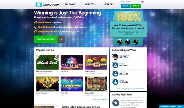 casino room review screenshot
