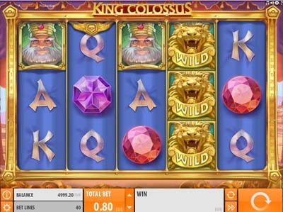 king colossus quickspin slot review