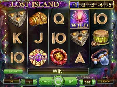 lost island slot machine review