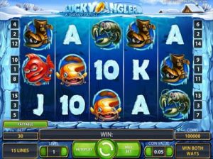 lucky angler slot machine review