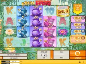 royal frog quickspin online slot review