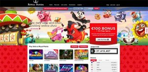 royal panda casino review screenshot