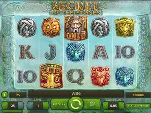 secret of the stones slots review