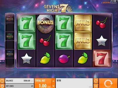sevens high quickspin slot review