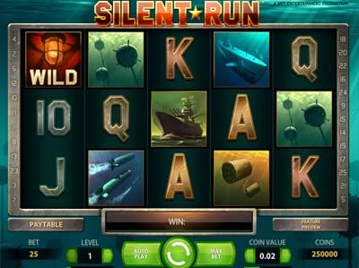 silent run slot review