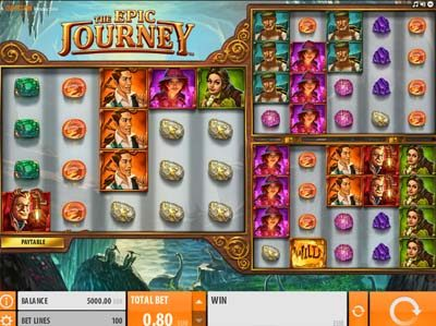 the epic journey quickspin slot review