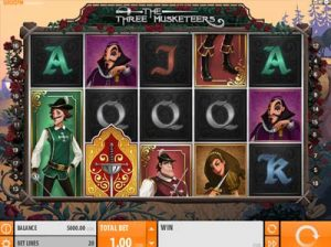 the three musketeers quickspin slot review