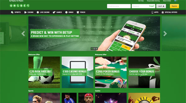 unibet casino review screenshot