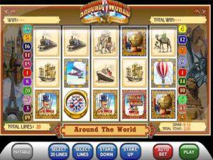around the world ash gaming slots
