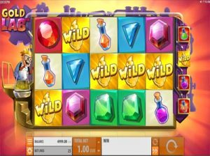 gold lab quickspin slot machine