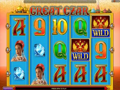great czar slot game