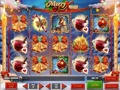 merry xmas slot review