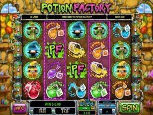 potion factory slot review