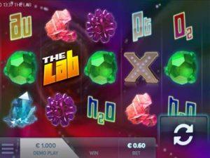 the lab elk studios slot machine