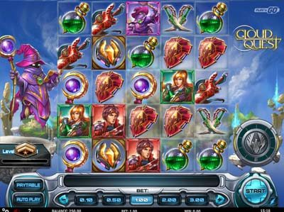 cloud quest online slot