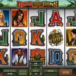 girls with guns jungle microgaming slot screenshot