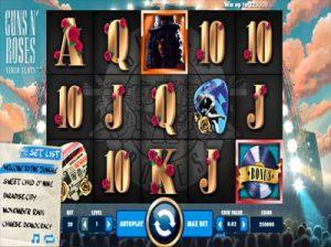 guns n roses online slot machine review