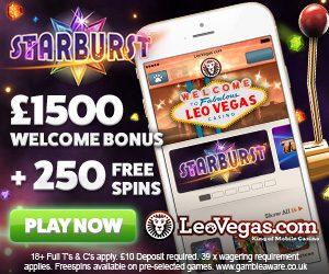 high roller welcome bonus at leovegas