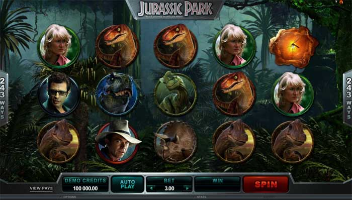 jurassic park slot review