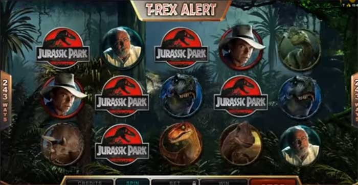 jurassic park t rex alert