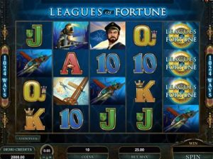leagues of fortune slot from microgaming