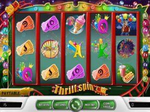 thrill spin slot